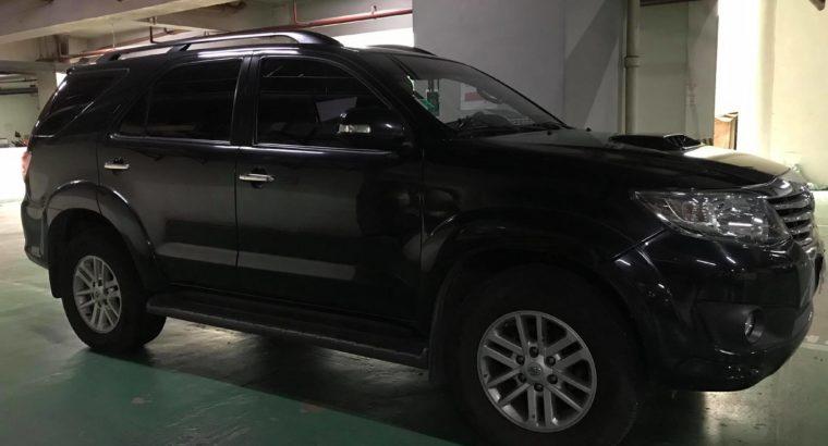 2014 Used Black Toyota Fortuner SUV