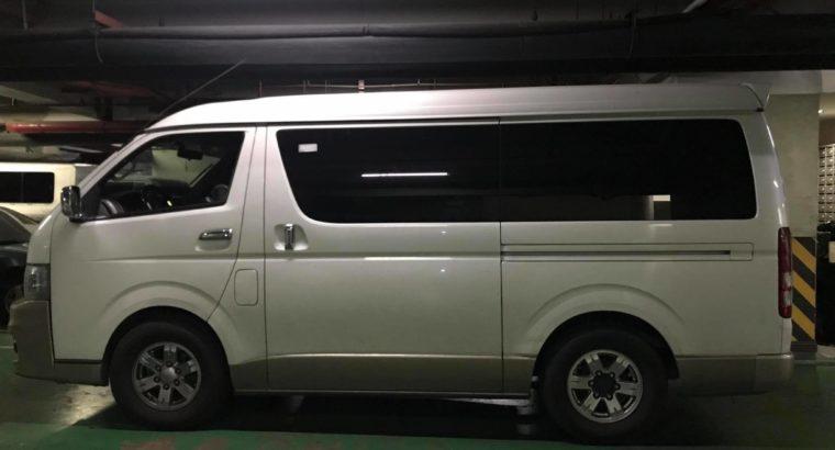 2012 Used White Toyota Grandia Van